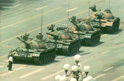 tanks tiananmen