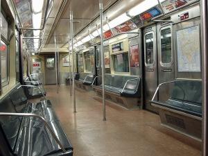 L Train Subway Car Interior - MTA / New York City Subway